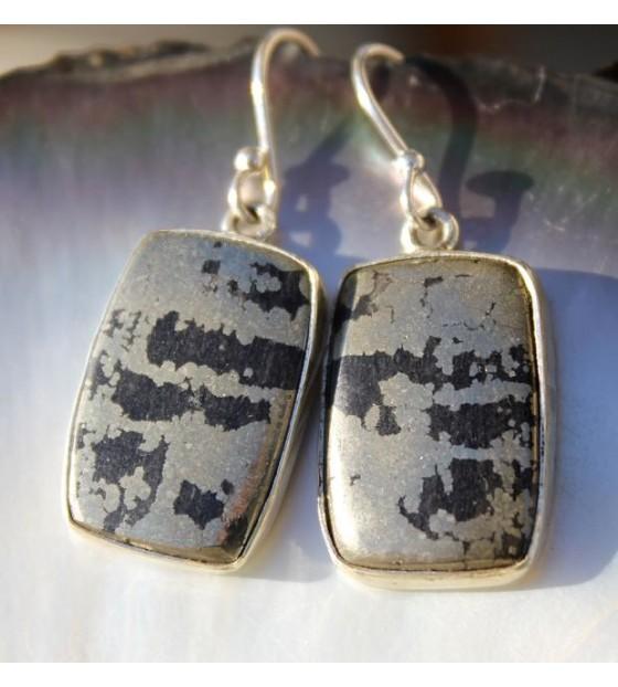 Boucles d'oreilles ethniques bijoux argent Caen shantilight