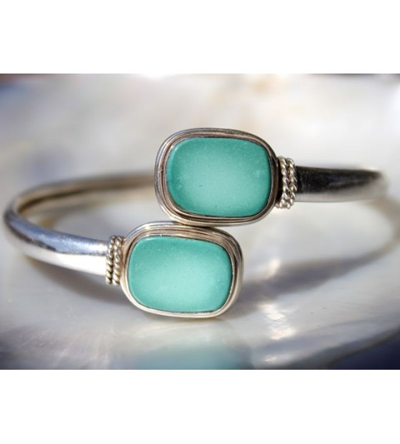 Bracelet argent bijoux ethnique turquoise Shantilight