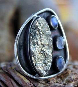 Bijoux argent bague pierre naturelle shantilight