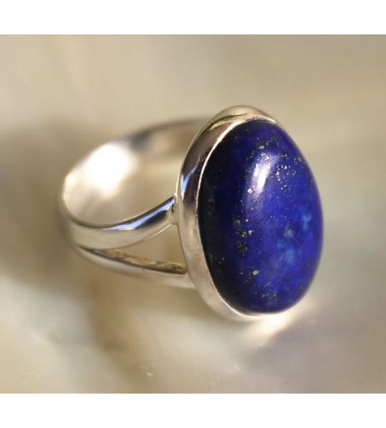 Bijoux homme bague lapis lazuli shantilight