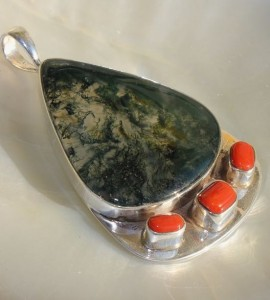 pendentif pierres naturelles bijoux homme shantilight