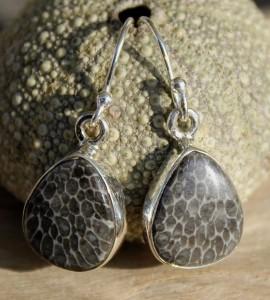 Bijoux ethnique boucles d'oreilles pierres shantilight