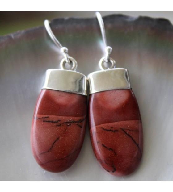 Bijoux argent boucles pierres naturelles shantilight