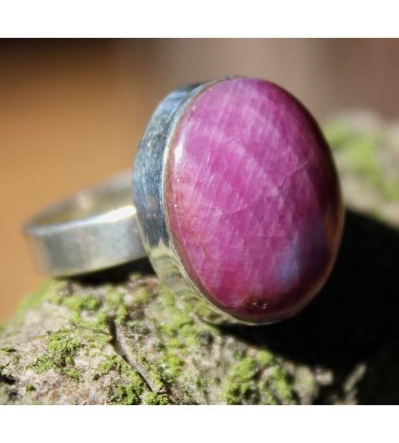 Bague argent bijoux pierre naturelle shantilight