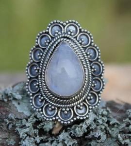 Bague ethnique bijoux...
