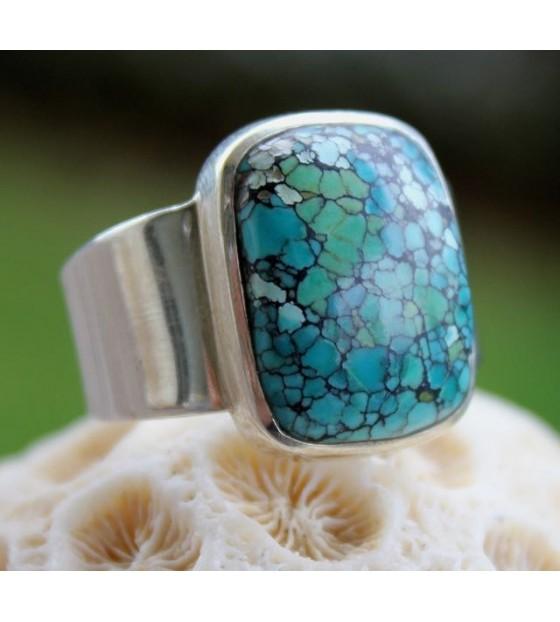 bague homme bijoux turquoise shantilight
