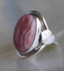 Bague argent bijoux indiens pierre Caen Shantilight