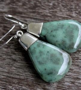 Boucles d'oreilles argent pierres Shantilight
