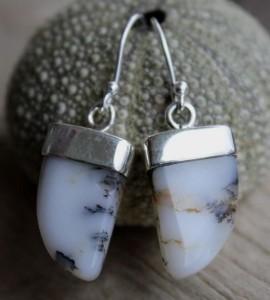 Boucles d'oreilles argent agate shantilight
