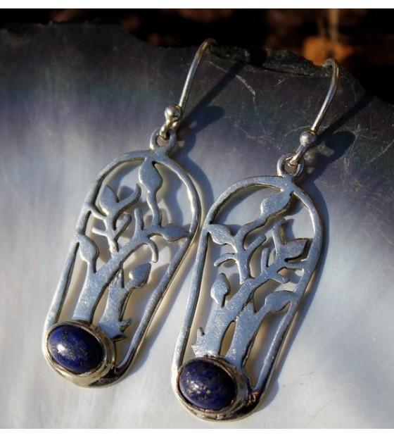 boucles d'oreilles arbre de vie shantilight