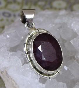 Bijoux indiens pierre naturelle rubis shantilight