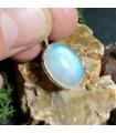 Pendentif ethnique bijoux argent pierre de lune Shantilight