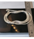 Chaine argent snake maille serpent Shantilight